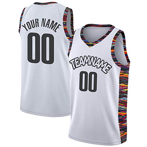 Custom Men's Basketball Jersey Sports Shirts Stitched Personalized Team Name and Number
