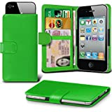i-Tronixs (Green +Earphones 143 x 72) case for Medion Life