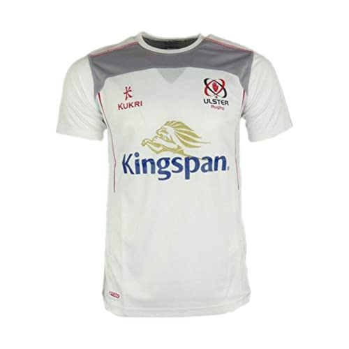 91072388d71 Kukri Ulster 2017 18 Players Performance Rugby Training T-Shirt - White