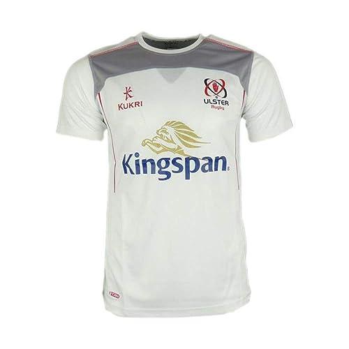 381b6b1043e Kukri Ulster 2017/18 Players Performance Rugby Training T-Shirt - White