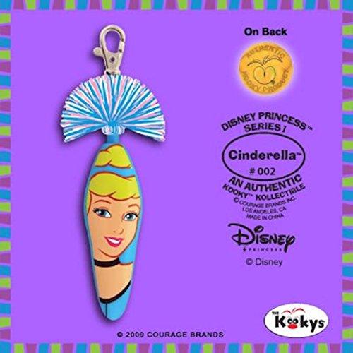Kooky Klicker Pen Keychain Disney Cinderella White by Kooky