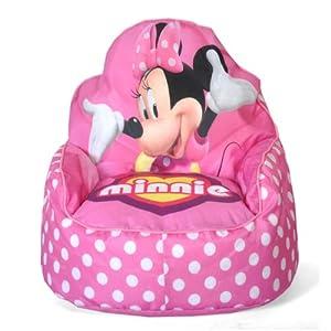 51EsJiMrllL. SS300  - Disney Minnie Mouse Toddler Bean Bag Sofa Chair