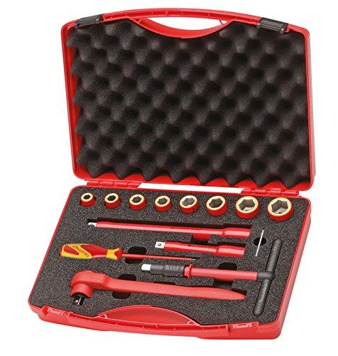 GEDORE 1001 VDE-Werkzeugsatz 14-teilig im Koffer