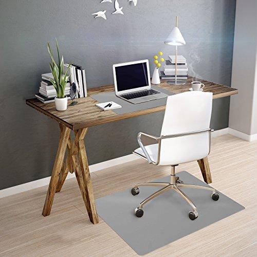 OfficeMarshal Alfombra de Color para Silla - Alfombrilla Protectora Suelo   Alfombra oficinas PP   M