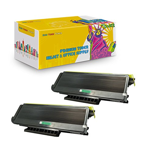 High Yield 7K Pages Compatible Toner Replaces The Brother TN580 and Brother TN550-2 Pack