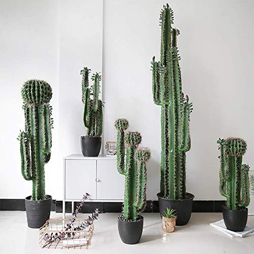 LYWIR Beste Kunstmatige boom/Cactus Tropisch Kantoor Kas Indoor Outdoor Tuinplant (80 cm)