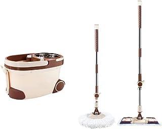 ZKS-KS ローラーホイール調節可能な家庭用カーキでモップとバケツクリーニングセットでプーリー 家庭用モップセット