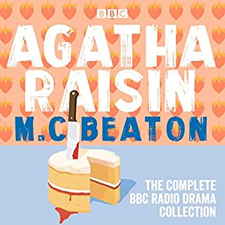 The Agatha Raisin Radio Drama Collection audiobook cover art