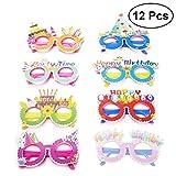 Toyvian Alles Gute zum Geburtstag Papier Party Brille Neuheit Brillen,Kids Party Favors Lieferungen...