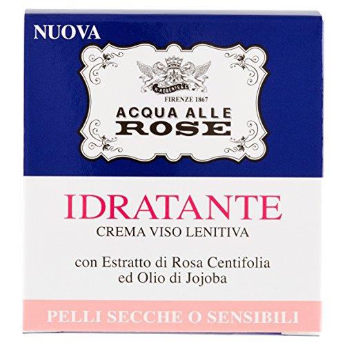 Acqua alle Rose Crema Idratante, Pelli Secche o Sensibili - 50ml