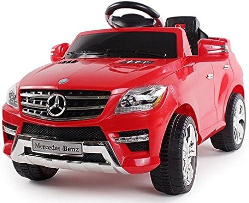Auto elektrische für Kinder 6 2 toren mit Fernbedienung 2.4 Mercedes Benz ML 350 V Rot