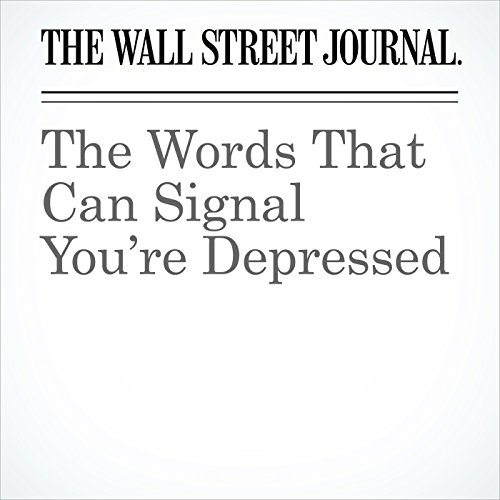 The Words That Can Signal You're Depressed copertina