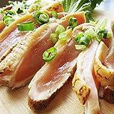 国産 鶏ムネ たたき 5枚セット(200g×5個)(約10人前) 朝びき新鮮 冷凍食品 《*冷凍便》