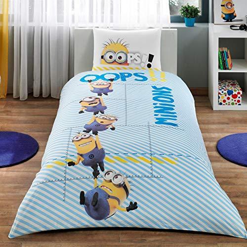 Minions, juego de cama, doble