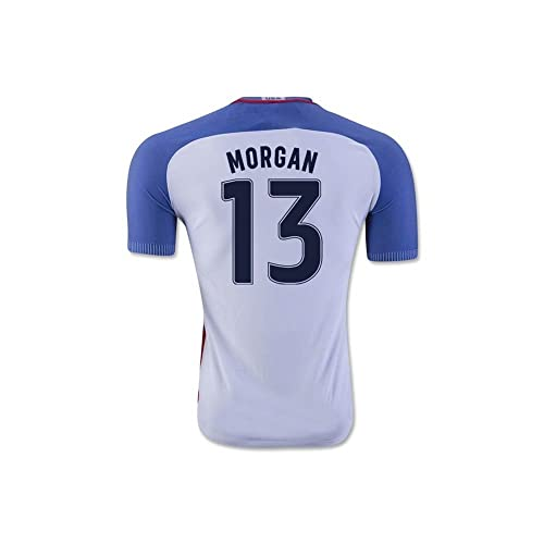 aa16b847d Morgan  13 USA National Women s Alex Home Jersey White (Small)