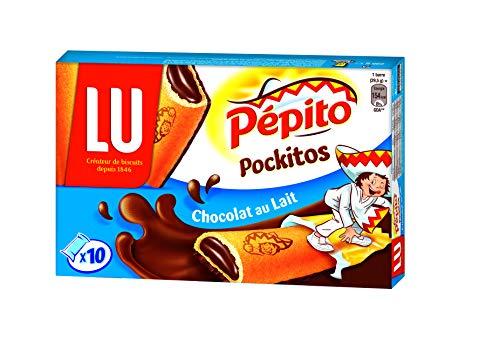 Lu Goûters au Cœur Fondant Chocolat au Lait le Paquet de 295 g