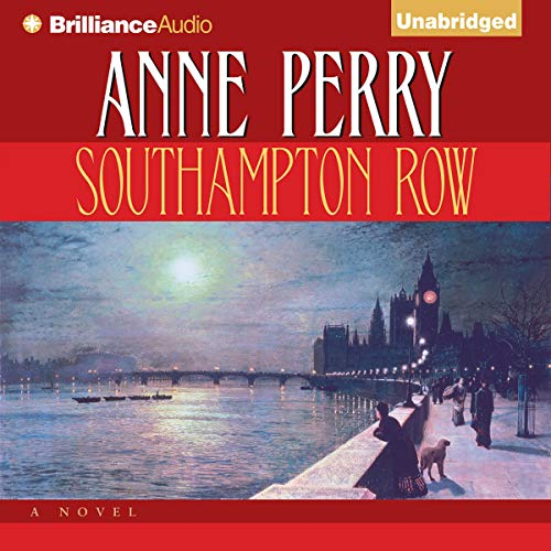 Southampton Row audiobook cover art