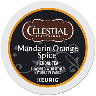 Celestial Seasonings Mandarin Orange Tea K-Cup Pods, Box of 24 Pods