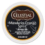 Celestial Seasonings Mandarin Orange Tea Single-Serve K-Cups, Box of 24