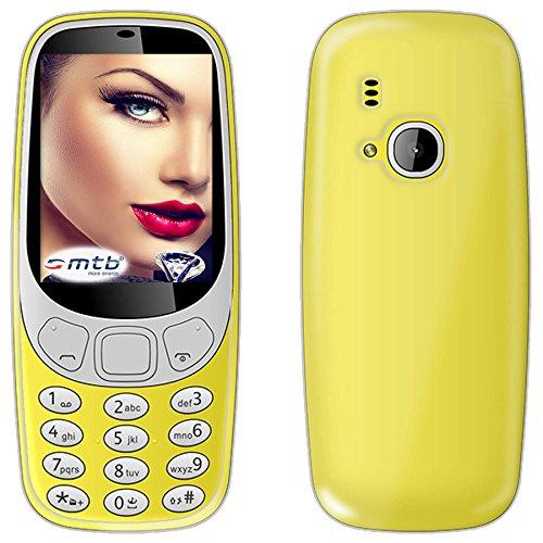 mtb more energy® Schutz-Hülle Clear und Slim für Nokia 3310 (2017) / Nokia 3310 Dual (2.4'') - transparent - flexibel - TPU Hülle Schutz Hülle Tasche