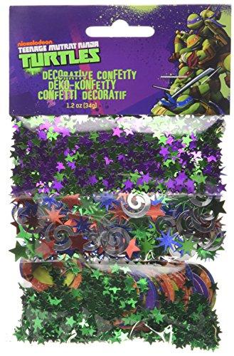 amscan Teenage Mutant Ninja Turtle 3-Konfetti Packungen
