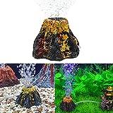 horolas acquario vulcano ornamento decorazione acquario pietra a bolle d'aria pompa di ossigeno