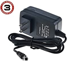 SLLEA 4ft Small AC-DC Adapter for WD My Book Essential 3TB WDBACW0030HBK-NESN WDBACW0030HBK-01 HDD Power Supply Cord Charger Mains PSU