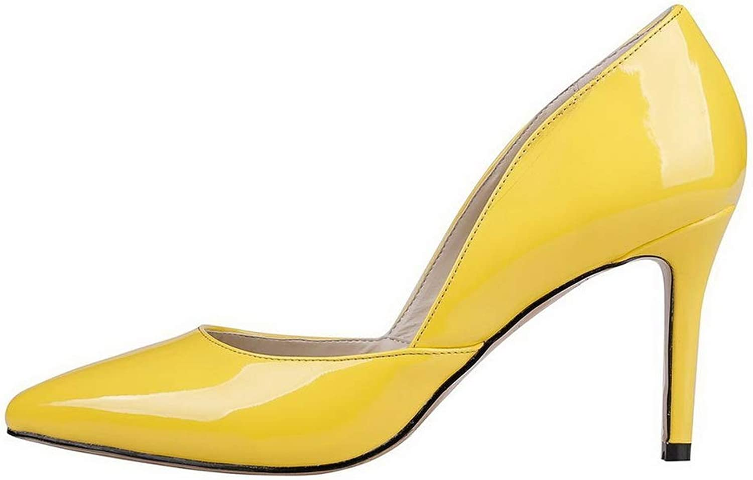 AdeeSu Womens Dress Solid Pumps-shoes Urethane Pumps shoes SDC06304