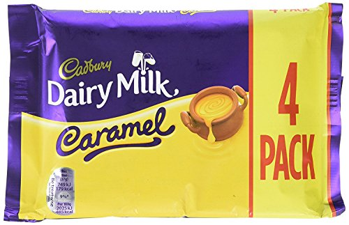 Tavoletta di cioccolato al caramello Cadbury 148g