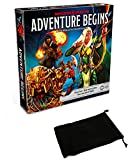 Adventure Begins Cooperative Board Game Bundle with Drawstring Bag