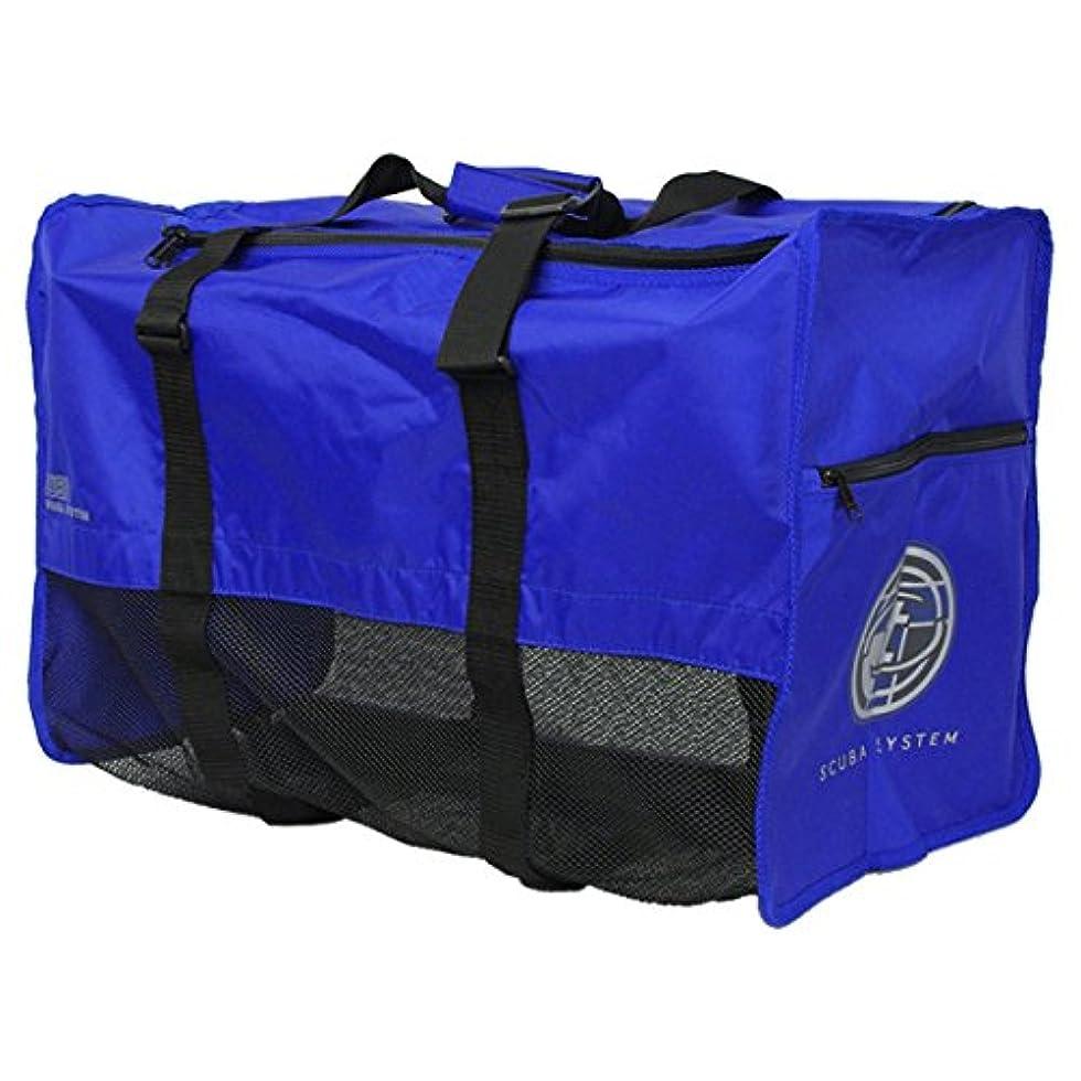 結晶安心させる猫背TUSA(ツサ) ダイビング メッシュバッグ BA0105 CBL(ブルー)