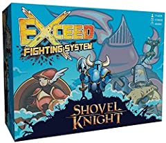 Exceed Fighting System digs up four brand new fighters from the popular video game Shovel Knight. Bring the fast-paced action of head-to-head arcade fighting games to your tabletop. Choose your fighter from an ever-growing roster of diverse character...