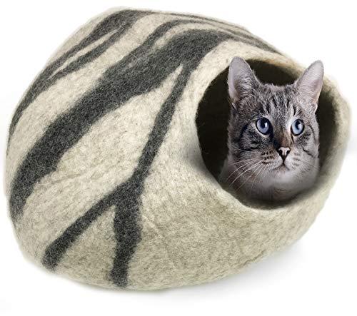 100% Natural Wool Large Cat Cave