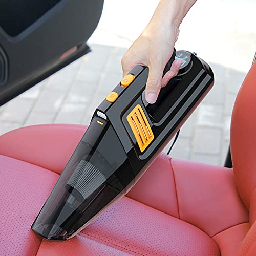Wdszb Detector Digital de monitoreo de presión de Llantas Pantalla Digital de Gran tamaño con medidor de Llantas para Autos liviano Multifunción portátil Adecuado para Autos Vehículos comerciales