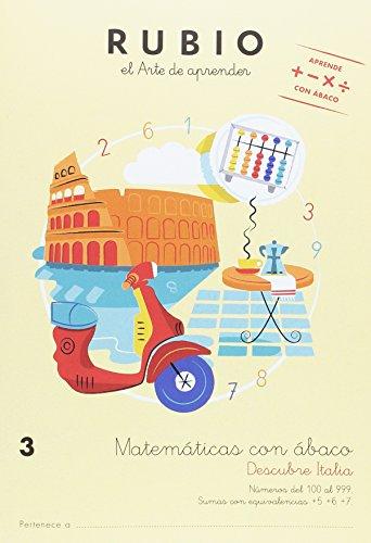 Matemáticas con ábaco 3. Descubre Italia