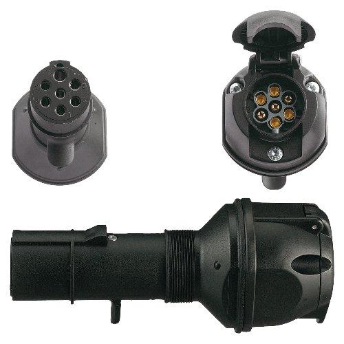 Spannungsreduzierung / Adapter LKW 7-pol.24V Typ N / PKW 7-pol.12V