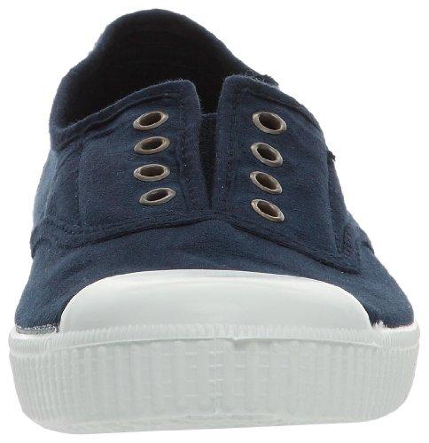 Victoria Inglesa Elastico Tintada Punt, Zapatillas Mujer, Azul (Marine), 37 EU