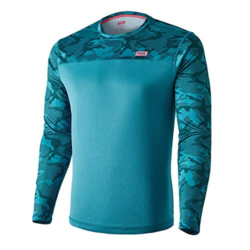 42K Running - Camiseta técnica Manga Larga 42k MIMET Winter Ocean Green L