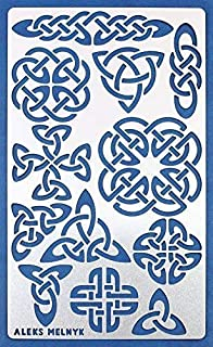 large celtic stencils