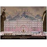 KONGQTE Clásico The Grand Budapest Hotel Impresión de