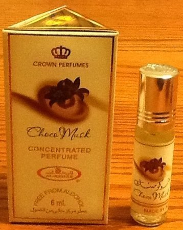 1 X Choco Musk - 6ml (.2 oz) Perfume Oil by Al-Rehab (Crown Perfumes) by Al-Rehab