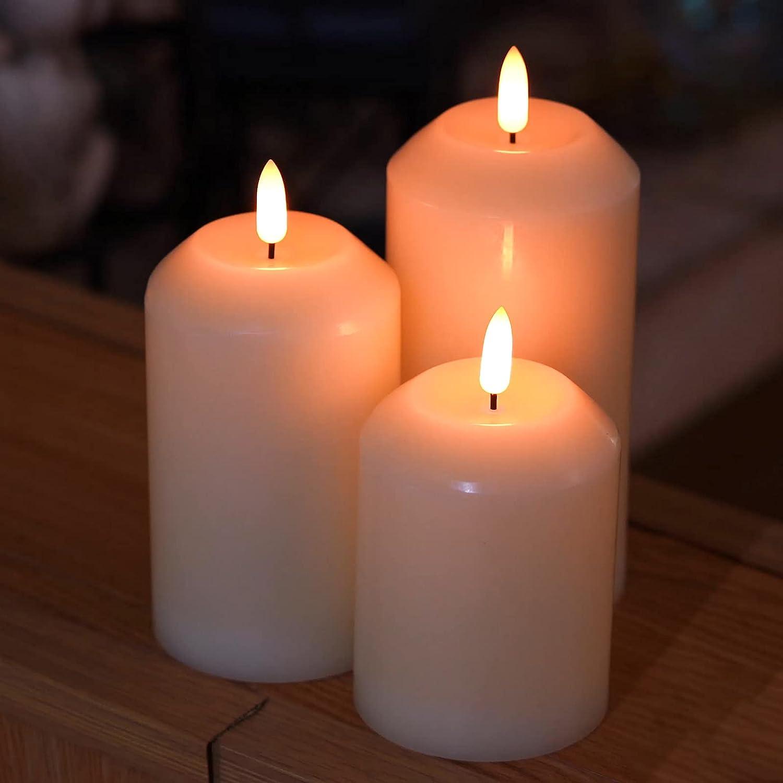 Amagic Decorative Flameless Candles H4