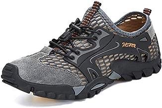 SITAILE Water Shoes Men Women Quick Dry Barefoot Aqua Swim River Shoes for Pool Beach Hiking Walking Shoes Gray Size 12 Women/9.5 Men