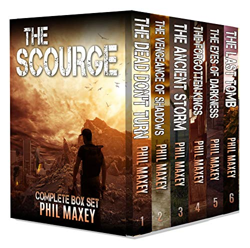 The Scourge Box Set: The Complete Series - Books 1-6 by [Phil Maxey]