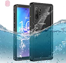Galaxy Note 10+ Plus Waterproof Case,Dooge IP68 Certified Shockproof/Dirtproof/Snowproof Full-body Heavy Duty Protective Case [Fingerprint ID Support] with Screen Protector for Galaxy Note 10 Plus/Pro