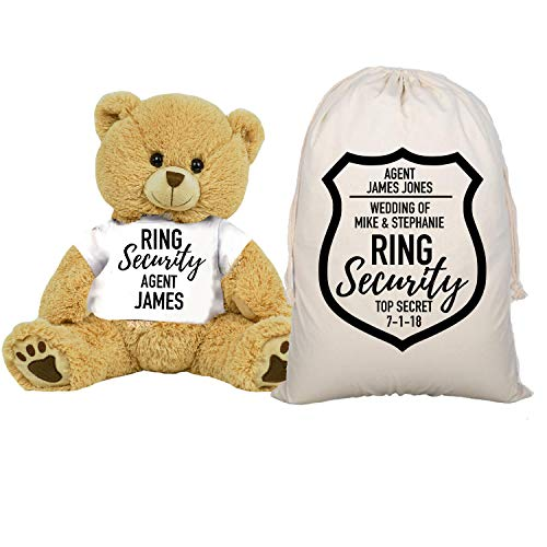Ring Security Teddy Bear