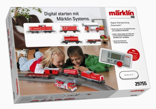 Märklin 29755 - Digital-Startpackung Feuerwehr