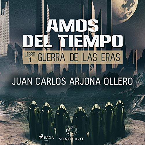 Diseño de la portada del título Amos del Tiempo