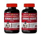 Bodybuilding Vitamins - Amino ACIDS 1000 mg - l-arginine l-lysine l-carnitine - 2 Bottles 200 Capsules