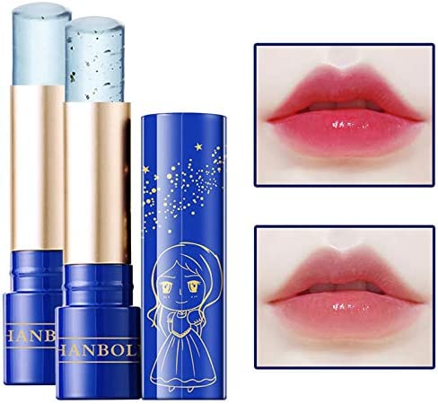 DAGEDA Color Changing Lip Balm 2Pcs Moisturizing Lipstick Set Waterproof Temperature Color Changing product image
